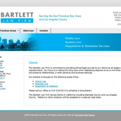 bartlett 250x250 Web Design Portfolio
