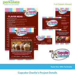 cupcakecharlies 250x250 Graphic Design Portfolio