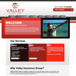 valleyinsurance 250x250 Web Design Portfolio